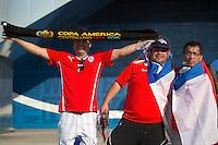 Photo before the match Argentina vs Chile corresponding to the Final of America Cup Centenary 2016, at MetLife Stadium.<br /> <br /> Foto previo al partido Argentina vs Chile cprresponidente a la Final de la Copa America Centenario USA 2016 en el Estadio MetLife , en la foto:Fans de Argentina<br /> <br /> <br /> 26/06/2016/MEXSPORT/OSVALDO AGUILAR