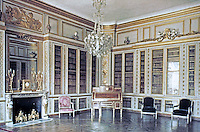 Louis XVI's Library, Palace of Versailles. Designed by Jacques-Ange Gabriel, Architect.