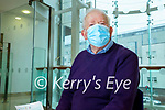 Richard Boyle Castlemaine who received his Covid-19 vaccine at Clounalour Medical Centre, Tralee on Saturday.