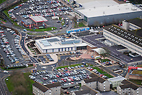Monday  20  January  2014<br /> <br /> Pictured: Views of Withybush Hospital<br /> Re: Aerial views of Withybush Hospital, Haverfordwest , Pembrokeshire West Wales