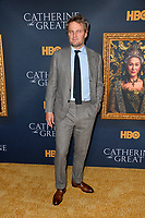 """LOS ANGELES, USA. October 18, 2019: Jason Clarke at the premiere of HBO's """"Catherine the Great"""" at the Hammer Museum.<br /> Picture: Paul Smith/Featureflash"""