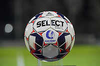 matchball pictured during a female soccer game between  AA Gent Ladies and Racing Genk on the 12 th matchday of the 2020 - 2021 season of Belgian Scooore Womens Super League , friday 29 th of January 2021  in Oostakker , Belgium . PHOTO SPORTPIX.BE | SPP | DIRK VUYLSTEKE