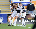 08/11/2009  Copyright  Pic : James Stewart.sct_jspa13_falkirk_v_celtic  . :: SCOTT ARFIELD CELEBRATES AFTER HE SCORES FALKIRK'S FIRST FROM THE SPOT :: .James Stewart Photography 19 Carronlea Drive, Falkirk. FK2 8DN      Vat Reg No. 607 6932 25.Telephone      : +44 (0)1324 570291 .Mobile              : +44 (0)7721 416997.E-mail  :  jim@jspa.co.uk.If you require further information then contact Jim Stewart on any of the numbers above.........