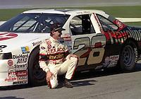Davey Allison Daytona 500 at Daytona International Speedway on February 19, 1989.  (Photo by Brian Cleary/www.bcpix.xom)