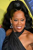"""LOS ANGELES, USA. October 15, 2019: Regina King at the premiere of HBO's """"Watchmen"""" at the Cinerama Dome, Hollywood.<br /> Picture: Paul Smith/Featureflash"""