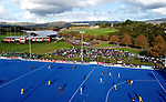 A general view of the Sentinel Homes Trans Tasman Series hockey match between the New Zealand Black Sticks Men and the Australian Kookaburras at Massey University Hockey Turf in Palmerston North, New Zealand on Sunday, 30 May 2021. Photo: Dave Lintott / lintottphoto.co.nz