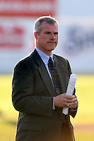 June 18th 2008:  Rochester Red Wings General Manager Dan Mason during opening day ceremonies for the Batavia Muckdogs at Dwyer Stadium in Batavia, NY.  Photo by:  Mike Janes/Four Seam Images