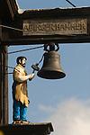 Abinger Hammer village sign Surrey England.