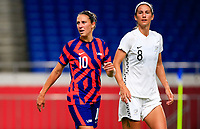 SAITAMA, JAPAN - JULY 24: Carli Lloyd #10 of the United States during a game between New Zealand and USWNT at Saitama Stadium on July 24, 2021 in Saitama, Japan.