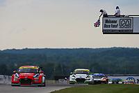 #33 Bryan Herta Autosport w/ Curb Agajanian Hyundai Veloster N TCR, TCR: Gabby Chaves, Ryan Norman, Checkered Flag