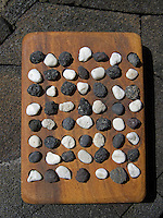 Ancient Hawaiian game called konane