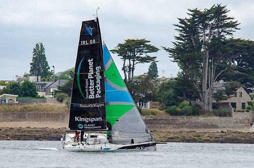 Dolan is delighted to be back sailing his own Figaro Beneteau 3 Smurfit Kappa-Kingspan and is raring to get going again
