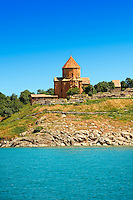 10th century Armenian Orthodox Cathedral of the Holy Cross on Akdamar Island, Lake Van Turkey 68