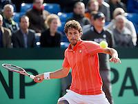 14-09-12, Netherlands, Amsterdam, Tennis, Daviscup Netherlands-Suiss, Robin Haase