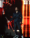 MIAMI GARDENS, FL - AUGUST 14: Romeo Santos of Dominican-American Bachata group Aventura performs on stage during the Inmortal Tour at Hard Rock Stadium on August 14, 2021 in Miami Gardens, Florida.  ( Photo by Johnny Louis / jlnphotography.com )
