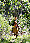 Images from a horseback ride to Indian Head Rock, above Hope Valley, Ca., on Wednesday afternoon, June 6, 2012. .Photo by Cathleen Allison