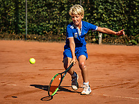 Hilversum, Netherlands, Juli 29, 2019, Tulip Tennis center, National Junior Tennis Championships 12 and 14 years, NJK, Faas Bos (NED)<br /> Photo: Tennisimages/Henk Koster