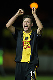 17.02.2015  Berwick Rangers v Spartans, Scottish Cup 5th Round Replay  ..................   PAUL WILLOIS CELE AT END