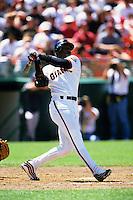 Baseball: San Francisco Giants Barry Bonds. San Francisco, CA 6/18/1999 MANDATORY CREDIT: Brad Mangin