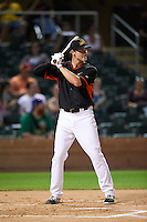 Mesa Solar Sox Brian Anderson (14), of the Miami Marlins organization, during the Bowman Hitting Challenge on October 8, 2016 at the Salt River Fields at Talking Stick in Scottsdale, Arizona.  (Mike Janes/Four Seam Images)