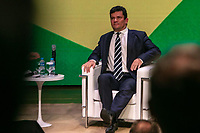 São Paulo, SP, 14.10.2019: Paulo Skaf recebe Sergio Moro na FIESP -SP- O Ministro da Justiça Sergio Moro e Paulo Skaf Presidente da Federação das Indústrias do Estado de São Paulo (FIESP), participa de reunião expandida da diretoria da Fiesp, Ciesp, presidentes de sindicatos e  Lideranças empresariais de diversos setores, na sede da FIESP, em Em São Paulo, SP, nesta segunda-feira (14).