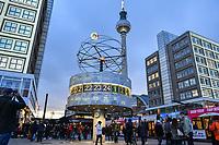 2019/11/04 Berlin | Alexanderplatz | Weltzeituhr