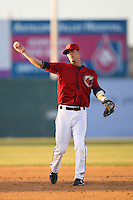 April 19 2009: Craig Corrado of the Lancaster JetHawks during game against the High Desert Mavericks at Clear Channel Stadium in Lancaster,CA.  Photo by Larry Goren/Four Seam Images
