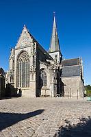 Europe/France/Pays de la Loire/44/Loire-Atlantique/Parc Naturel Régional de Brière/Guérande: La Collégiale Saint-Aubin