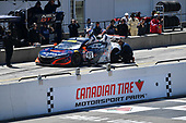 Pirelli World Challenge<br /> Victoria Day SpeedFest Weekend<br /> Canadian Tire Motorsport Park, Mosport, ON CAN Saturday 20 May 2017<br /> Peter Kox/ Mark Wilkins pit stop<br /> World Copyright: Richard Dole/LAT Images<br /> ref: Digital Image RD_CTMP_PWC17096