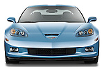 Straight front view of a 2012 Chevrolet Corvette GS Coupe