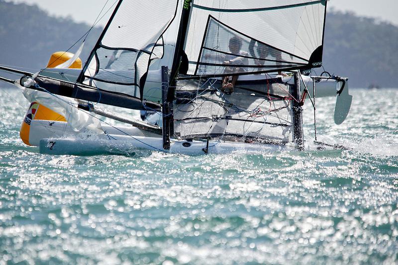 BrazilSirena SL16OpenCrewBRAOC3OtávioCardoso<br /> BrazilSirena SL16OpenHelmBRADZ1DiogoZabeu<br /> Day3, 2015 Youth Sailing World Championships,<br /> Langkawi, Malaysia