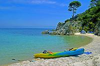 camp kayak, Halkidiki, Greece, Aegean, Mediterranean, Europe