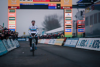 yet another race of start-to-finish dominance by European CX Champion Mathieu van der Poel (NED/Corendon-Circus)<br /> <br /> CX World Cup Koksijde 2018