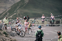 Romain Hardy (FRA/Fortuneo-Oscaro) up the highest point in the 2017 TdF: The Galibier (HC/2642m/17.7km/6.9%)<br /> <br /> 104th Tour de France 2017<br /> Stage 17 - La Mure › Serre-Chevalier (183km)