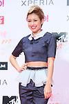 BENI, Jun 22, 2013 : MTV VMAJ (VIDEO MUSIC AWARDS JAPAN) 2013 at Makuhari Messe in Chiba, Japan. (Photo by AFLO)