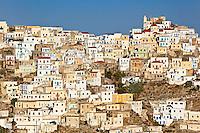 Olympos is a village of unbelievable beauty in Karpathos, Greece