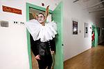 Casa di reclusione di Volterra 14 gennaio 2009<br /> si prova Pinocchio <br /> il detenuto Aniello Arena nei panni di Lucignolo