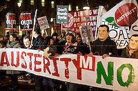 "24.11.2015 - ""Osborne's Nightmare before Christmas"" - Demo Against Autumn Statement"