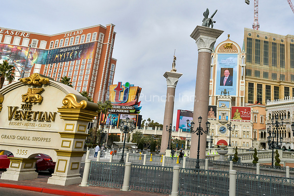 Las Vegas, NV - January 12 : The Venetian Resort honors Sheldon Adelson with a billboard on the day of his passing in Las Vegas, Nevada January 12, 2021. Credit: DeeCee Carter/MediaPunch