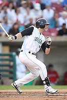 August 5, 2009: Stephen Parker of the Kane County Cougars. The Cougars are the Midwest League affiliate for the Oakland Athletics. Photo by: Chris Proctor/Four Seam Images