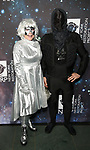 "Deborah Harry and Matt Katz Bowen attends Bette Midler's New York Restoration Project hosts the 22nd Annual Hulaween Event ""Hulaween in the Cosmos"" at St. John the Divine on October 29, 2018 in New York City."