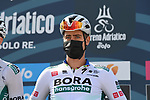Peter Sagan (SVK) Bora-Hansgrohe at sign on before the start of Stage 1 of Tirreno-Adriatico Eolo 2021, running 156km from Lido di Camaiore to Lido di Camaiore, Italy. 10th March 2021. <br /> Photo: LaPresse/Gian Mattia D'Alberto   Cyclefile<br /> <br /> All photos usage must carry mandatory copyright credit (© Cyclefile   LaPresse/Gian Mattia D'Alberto)