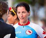 Robbi Weldon, Rio 2016 - Para Cycling // Paracyclisme.<br /> Team Canada athletes compete in women's Cycling Road B Race // Les athlètes d'Équipe Canada participent à la course cycliste féminin sur route B. 17/09/2016.