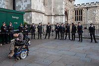 """28.06.2014 - """"Save Independent Living Fund: Occupy Westminster"""""""