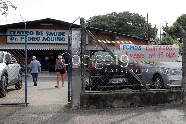 Campinas (SP), 30/04/2020 - Policia - O Centro de Saúde Dr. Pedro de Aquino Neto, na cidade de Campinas (SP), é assaltado pela 3ª vez em apenas 15 dias. Cerca de 60 funcionários paralisaram temporariamente as atividades em protesto pela falta de segurança.