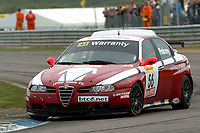 Round 2 of the 2007 British Touring Car Championship. #56 David Pinkney (GBR). A-Tech. Alfa Romeo 156.