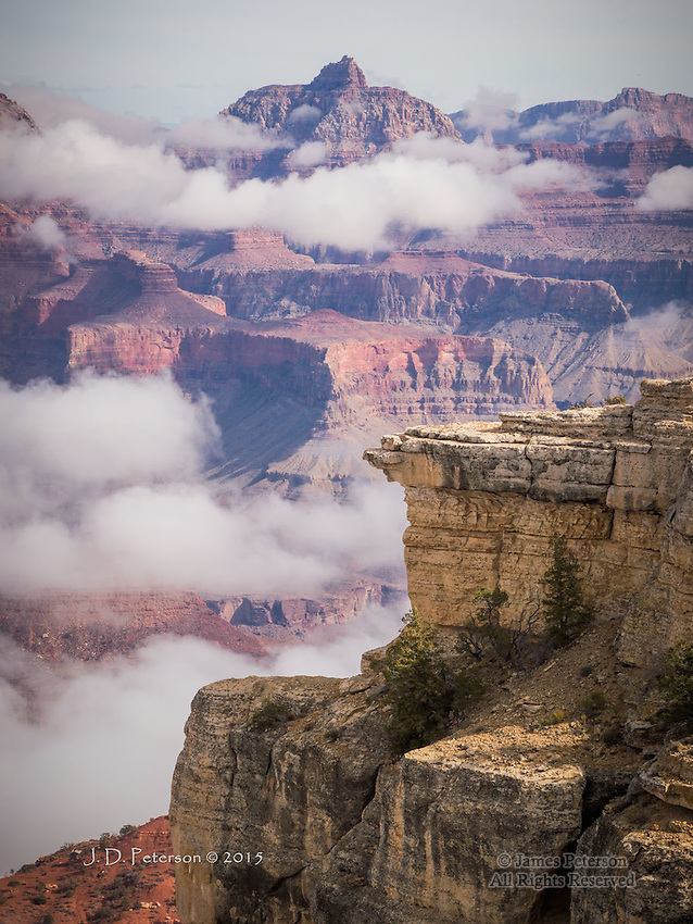 Above the Clouds at Grand Canyon