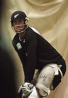 091202 Cricket - Black Caps Training