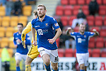 St Johnstone v Hamilton Accies…26.10.19   McDiarmid Park   SPFL<br />David Wotherspoon celebrates his second goal<br />Picture by Graeme Hart.<br />Copyright Perthshire Picture Agency<br />Tel: 01738 623350  Mobile: 07990 594431