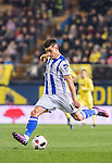 Yuri Berchiche Izeta of Real Sociedad in action during their Copa del Rey 2016-17 Round of 16 match between Villarreal and Real Sociedad at the Estadio El Madrigal on 11 January 2017 in Villarreal, Spain. Photo by Maria Jose Segovia Carmona / Power Sport Images